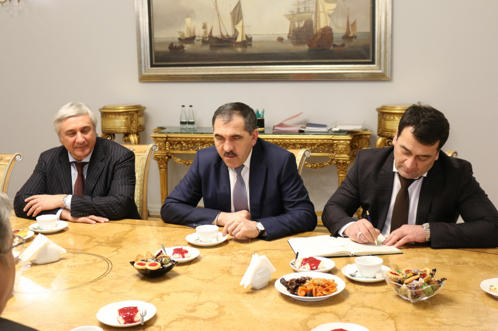 Руководитель Ингушетии ипосол Турции обсудили перспективы сотрудничества