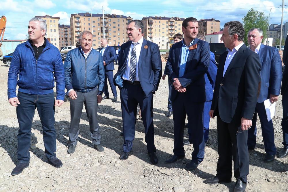 Личному составу МВД поИнгушетии представили нового руководителя