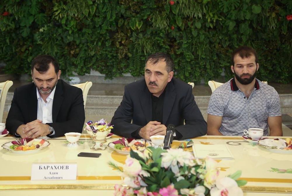 Выступающего заТурцию призера Игр вРио Картоева встретят вИнгушетии