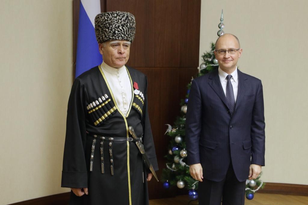 «Народный мэр» Ингушетии был удостоен ордена «Зазаслуги перед Отечеством»