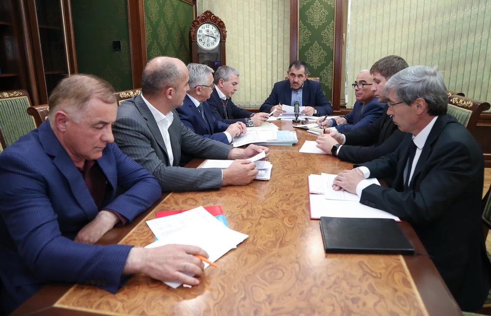 Евкуров оповестил  Путину о понижении  безработицы вИнгушетии