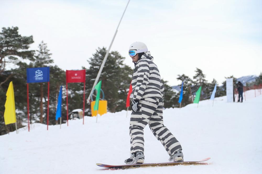 Выступления сноубордистов и высокоскоростной спуск пройдут накурорте вИнгушетии