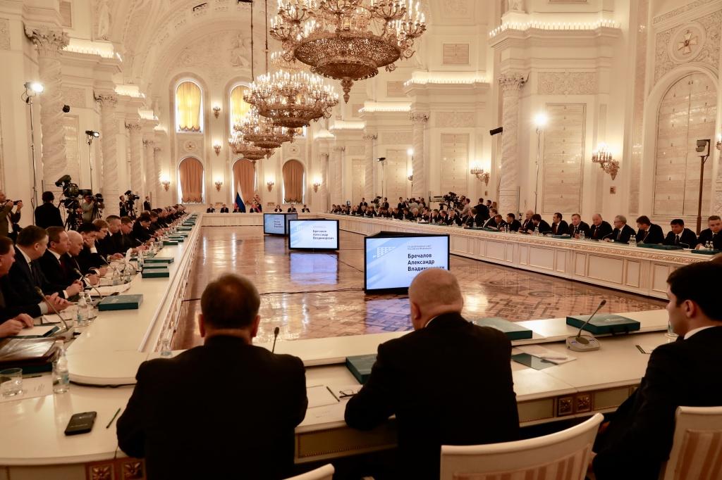 Путин встретился сврио руководителя Кемеровской области