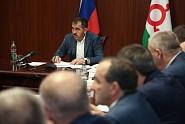 В Правительстве Ингушетии в новогодние праздники работает оперативный штаб